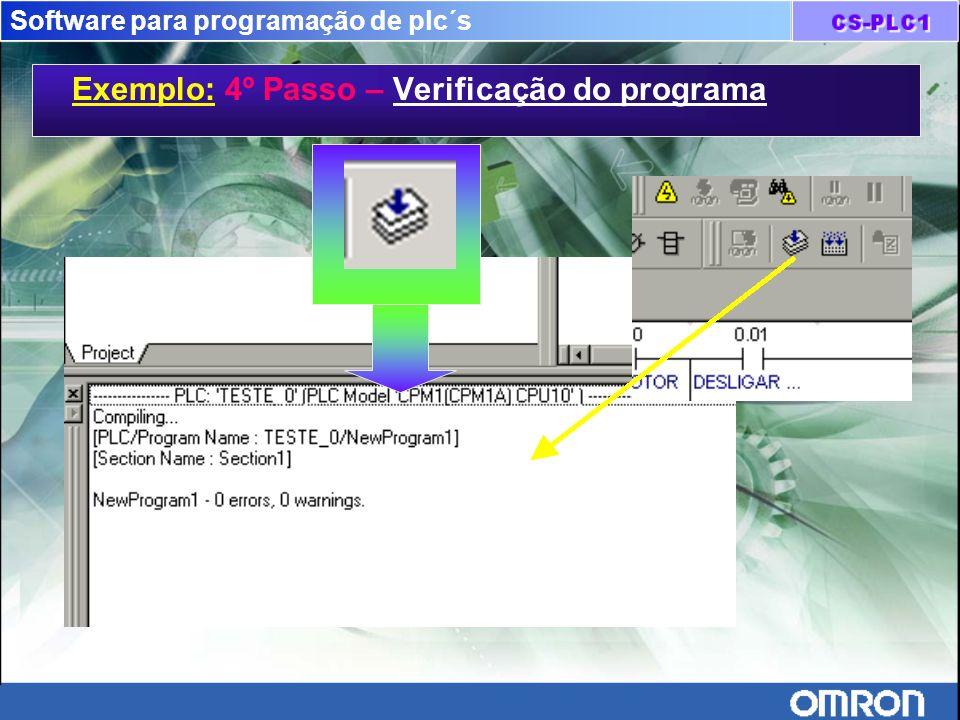 Software para programação de plc´s