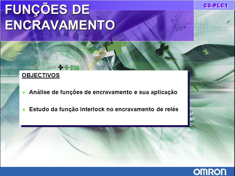 FUNÇÕES DE ENCRAVAMENTO