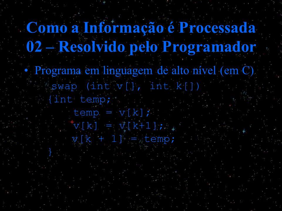 Como a Informação é Processada 02 – Resolvido pelo Programador