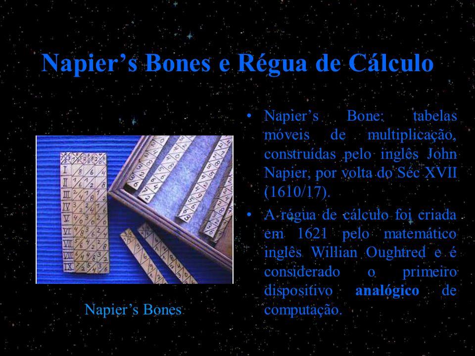 Napier's Bones e Régua de Cálculo