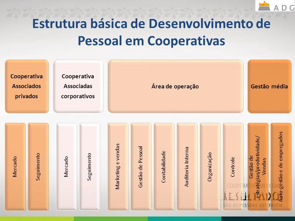 Estrutura básica de Desenvolvimento de Pessoal em Cooperativas