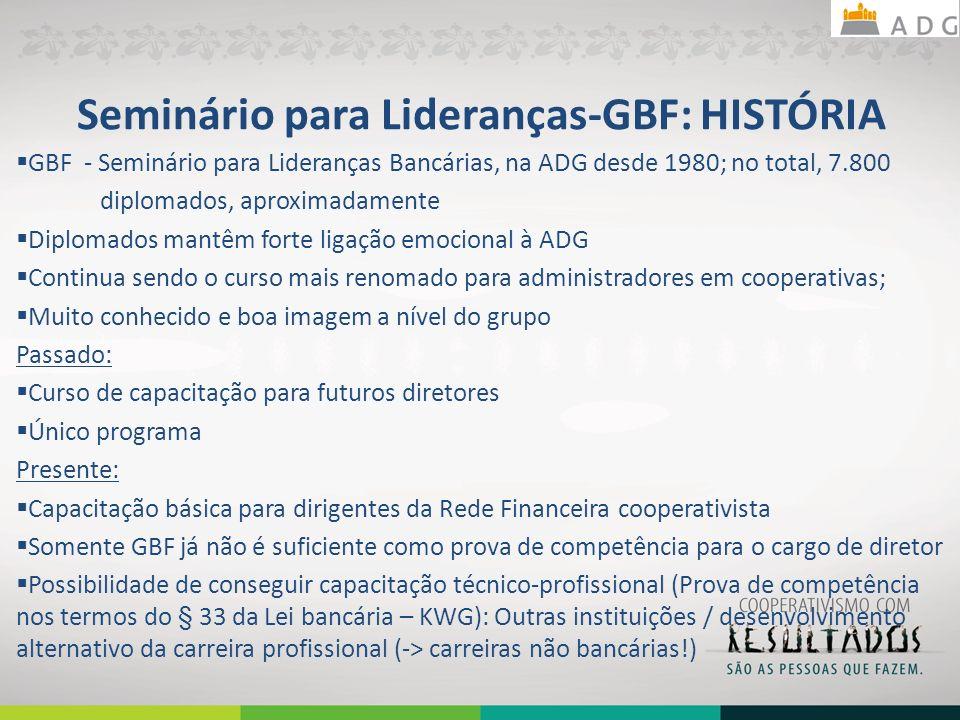 Seminário para Lideranças-GBF: HISTÓRIA
