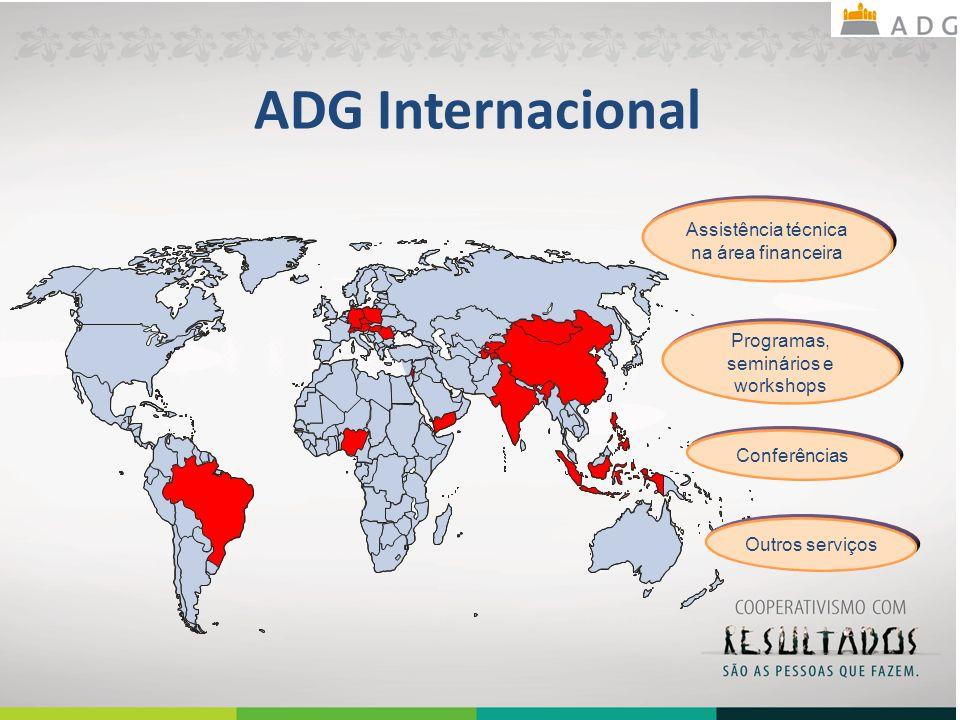 ADG Internacional Assistência técnica na área financeira