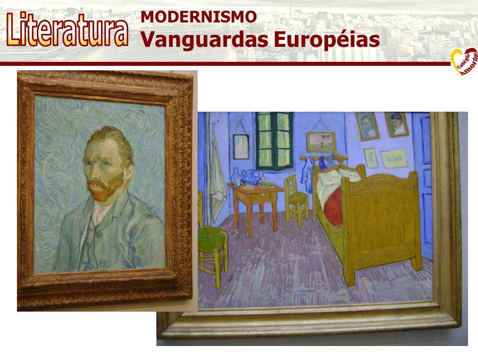 MODERNISMO Vanguardas Européias Literatura