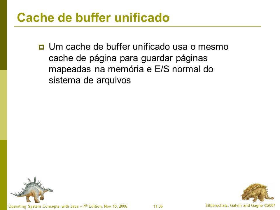Cache de buffer unificado