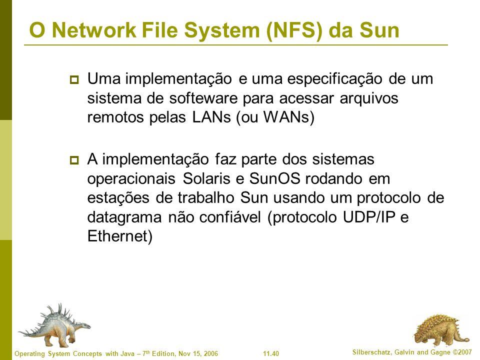 O Network File System (NFS) da Sun