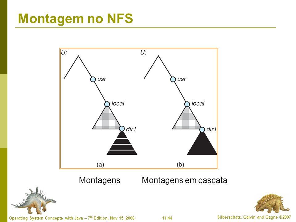 Montagem no NFS Montagens Montagens em cascata