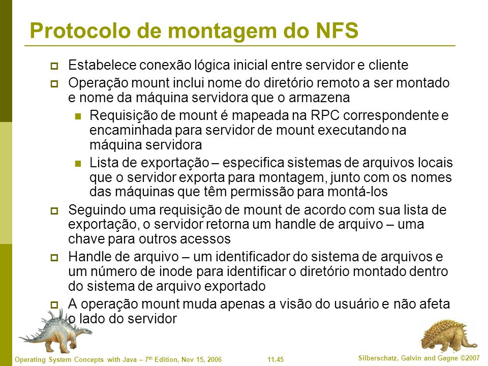 Protocolo de montagem do NFS