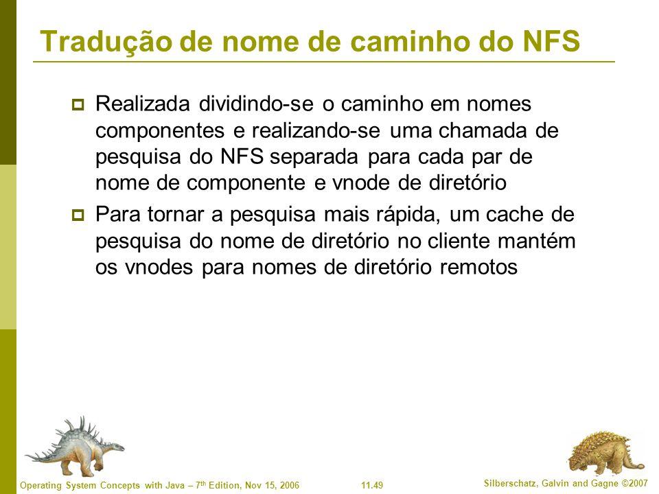 Tradução de nome de caminho do NFS