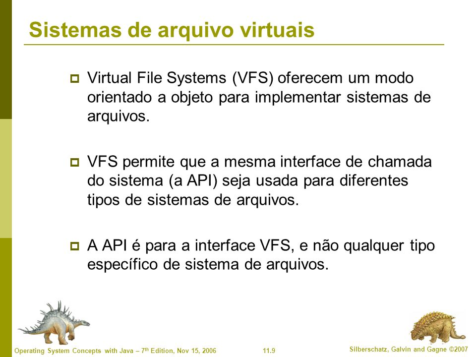 Sistemas de arquivo virtuais