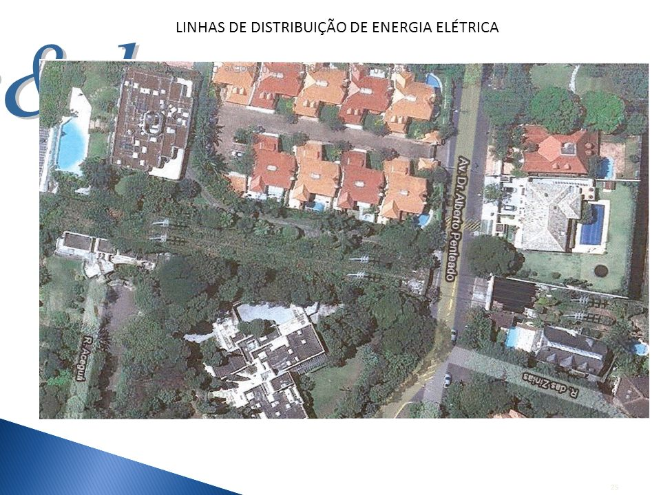 LINHAS DE DISTRIBUIÇÃO DE ENERGIA ELÉTRICA