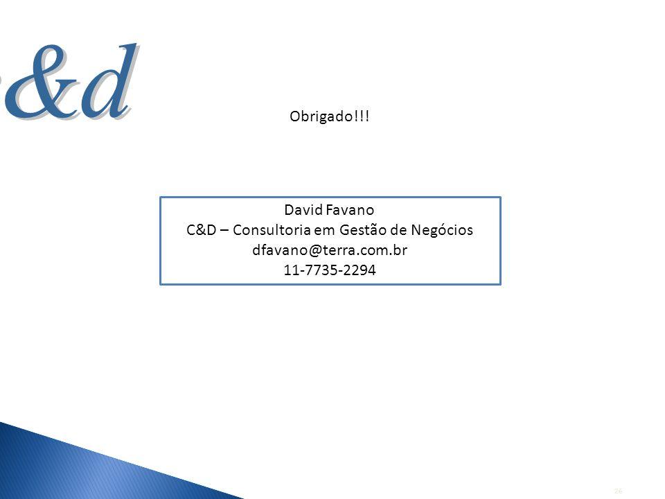 C&D – Consultoria em Gestão de Negócios