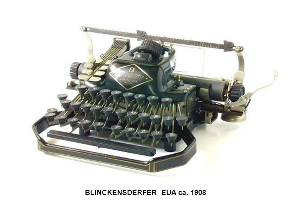 BLINCKENSDERFER EUA ca. 1908
