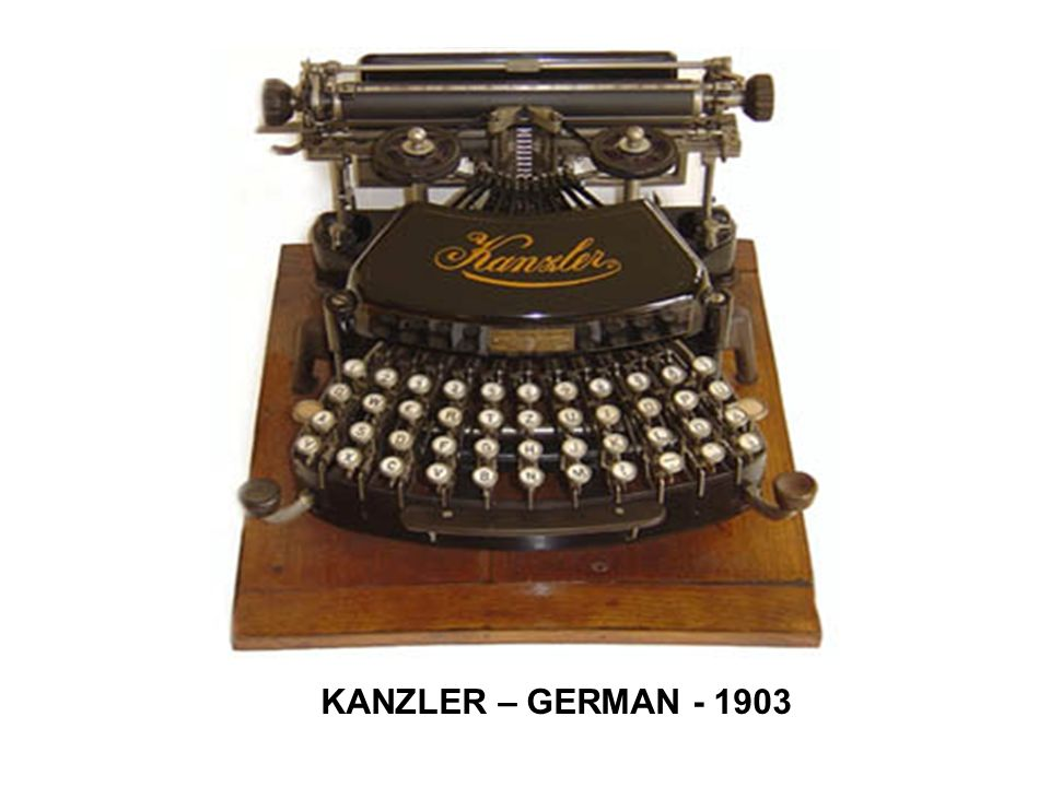 KANZLER – GERMAN - 1903