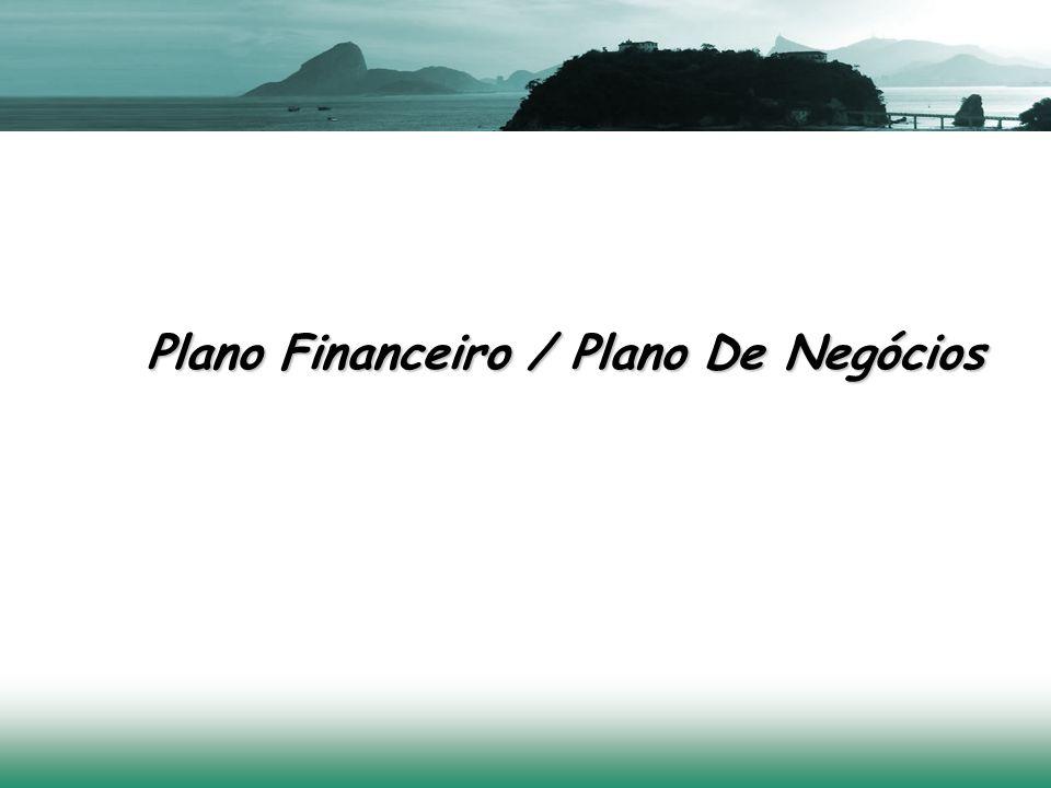 Plano Financeiro / Plano De Negócios