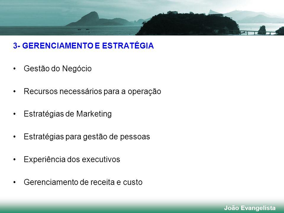 3- GERENCIAMENTO E ESTRATÉGIA Gestão do Negócio
