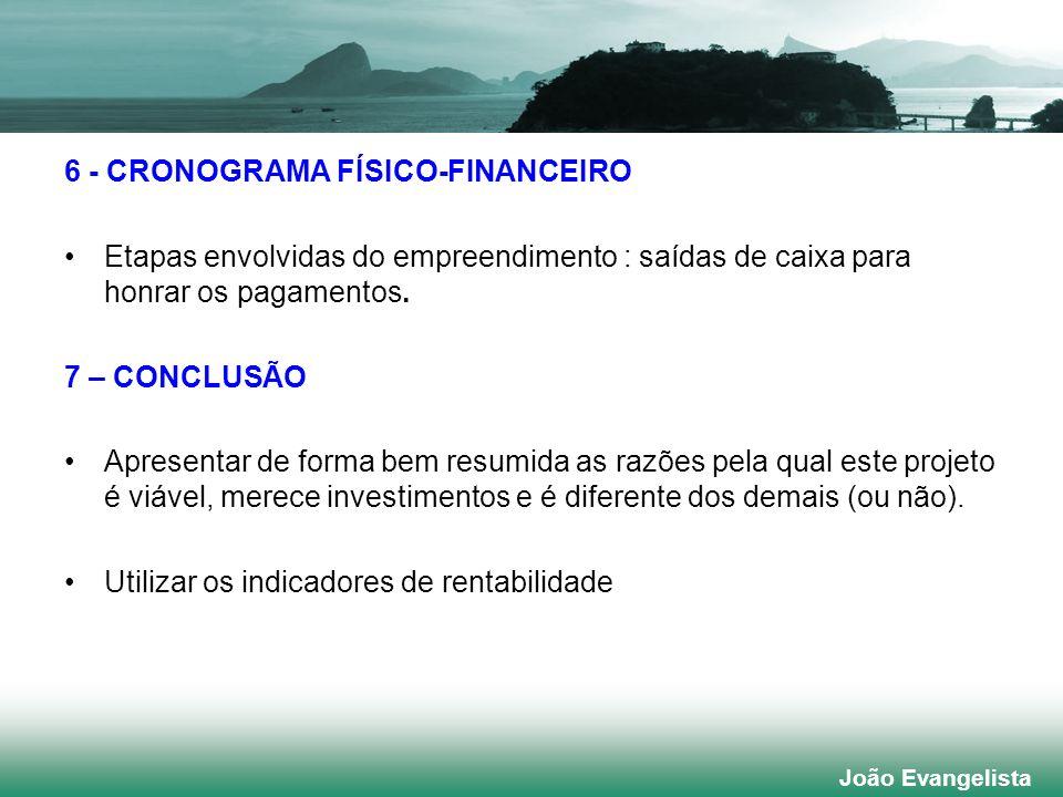 6 - CRONOGRAMA FÍSICO-FINANCEIRO