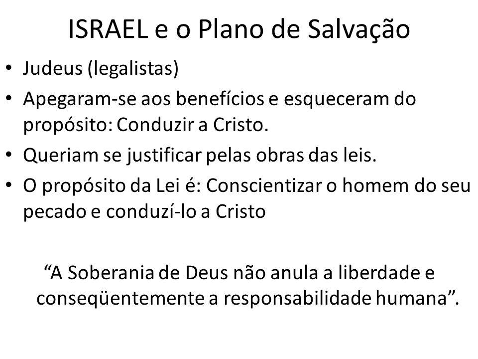 ISRAEL e o Plano de Salvação