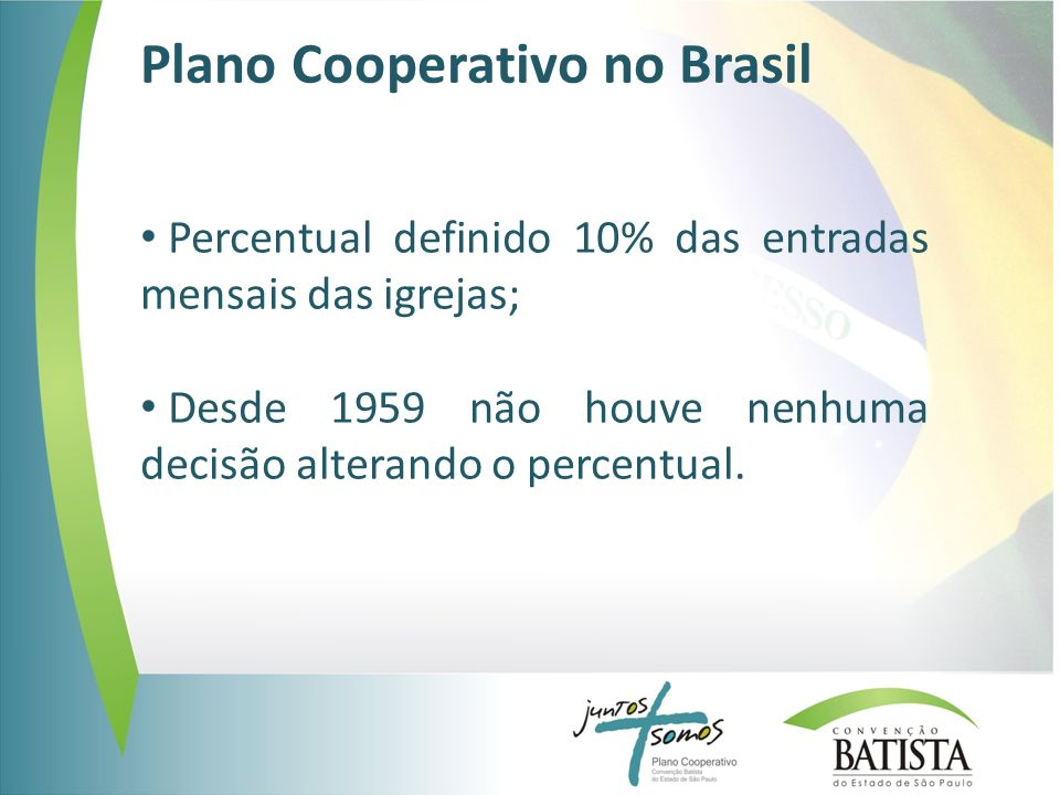 Plano Cooperativo no Brasil