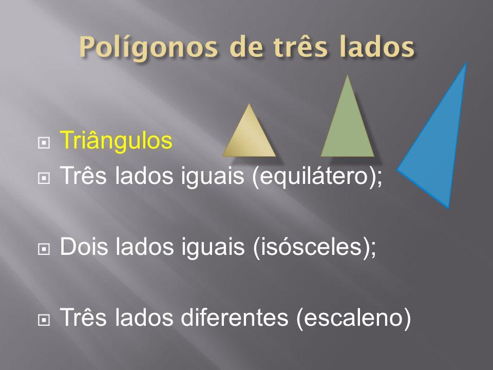 Polígonos de três lados