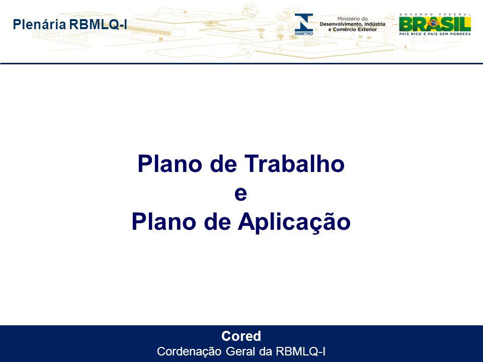 Cordenação Geral da RBMLQ-I