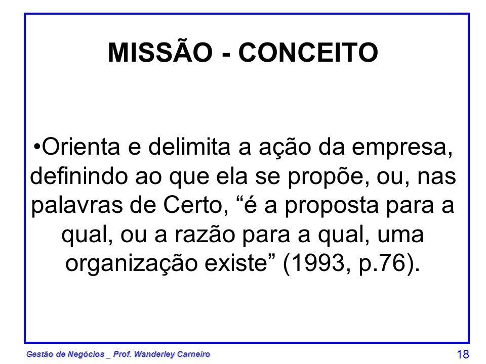 MISSÃO - CONCEITO