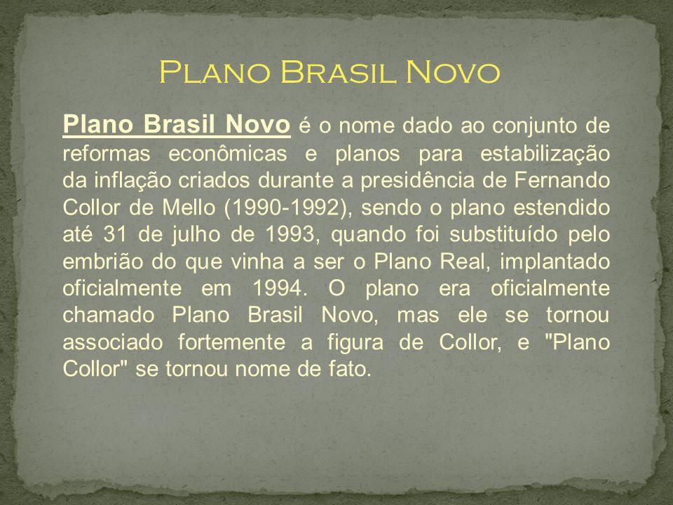Plano Brasil Novo