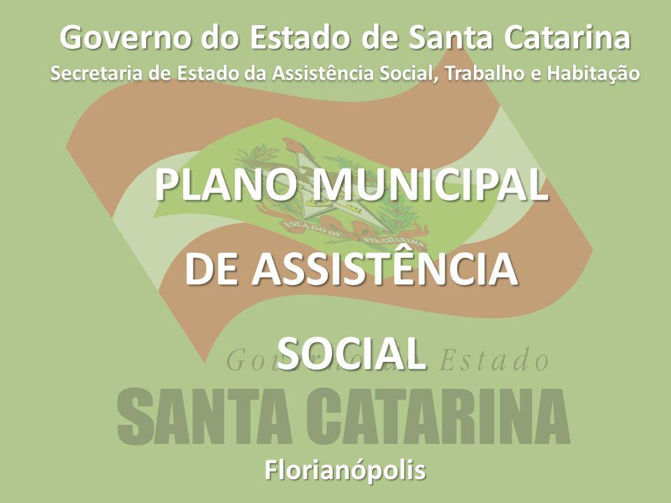 PLANO MUNICIPAL DE ASSISTÊNCIA SOCIAL