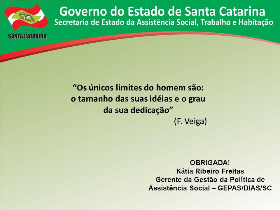 Gerente da Gestão da Política de Assistência Social – GEPAS/DIAS/SC