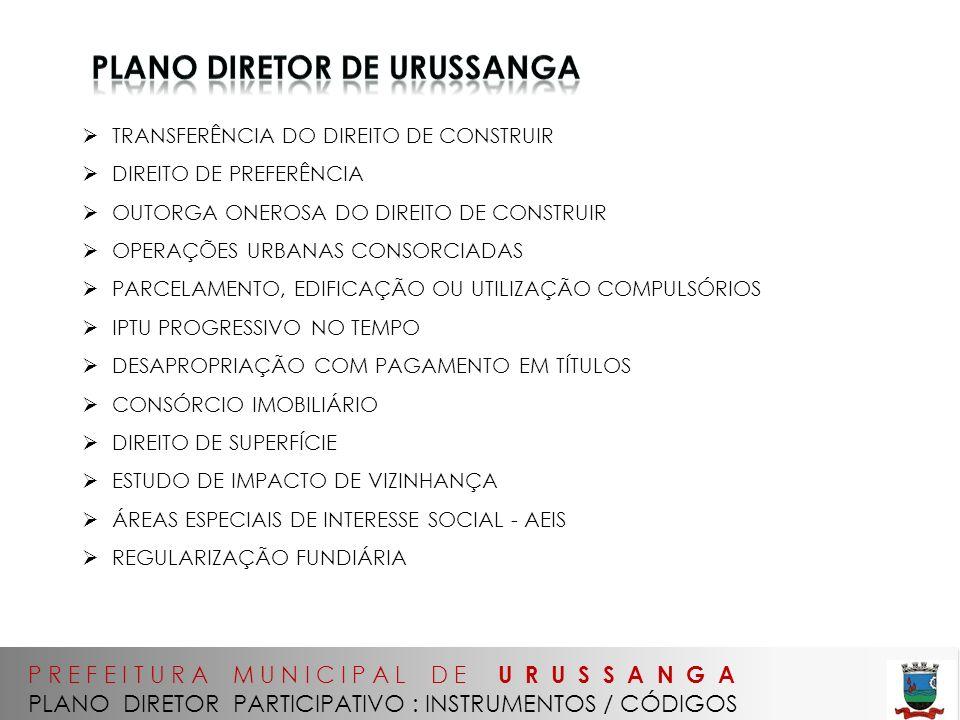 PLANO diretor de urussanga