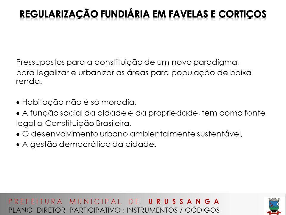 Regularização Fundiária em favelas e cortiços