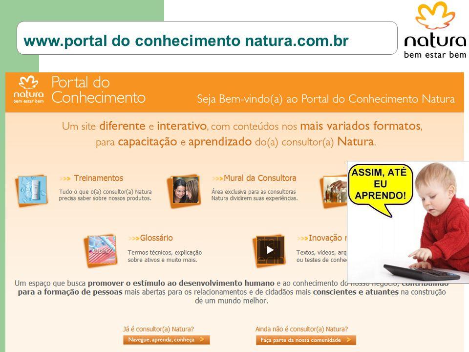 www.portal do conhecimento natura.com.br