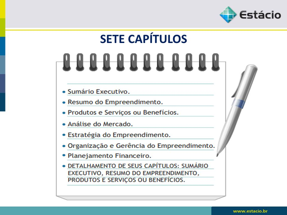 SETE CAPÍTULOS