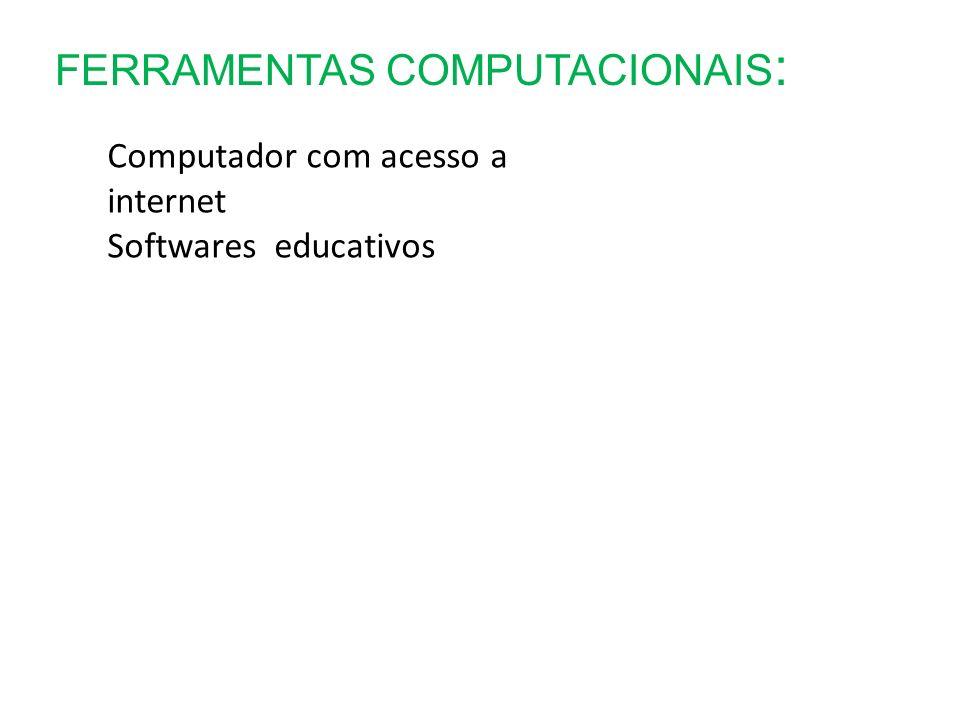 FERRAMENTAS COMPUTACIONAIS: