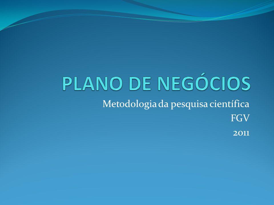 Metodologia da pesquisa científica FGV 2011