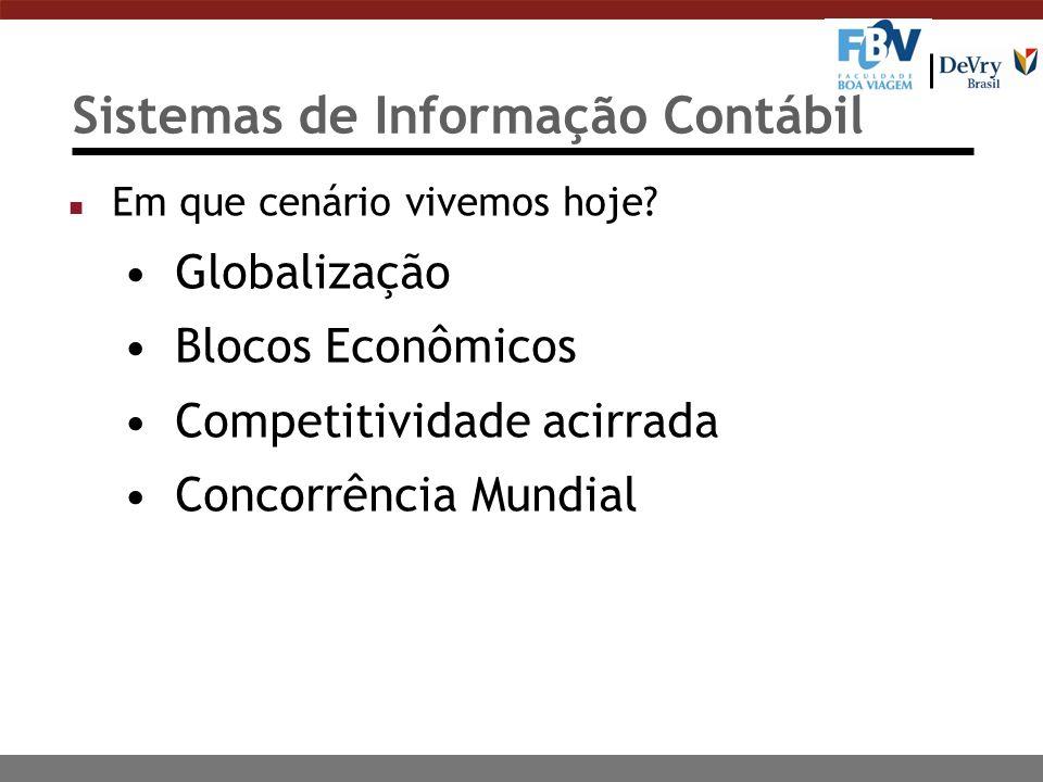 Sistemas de Informação Contábil