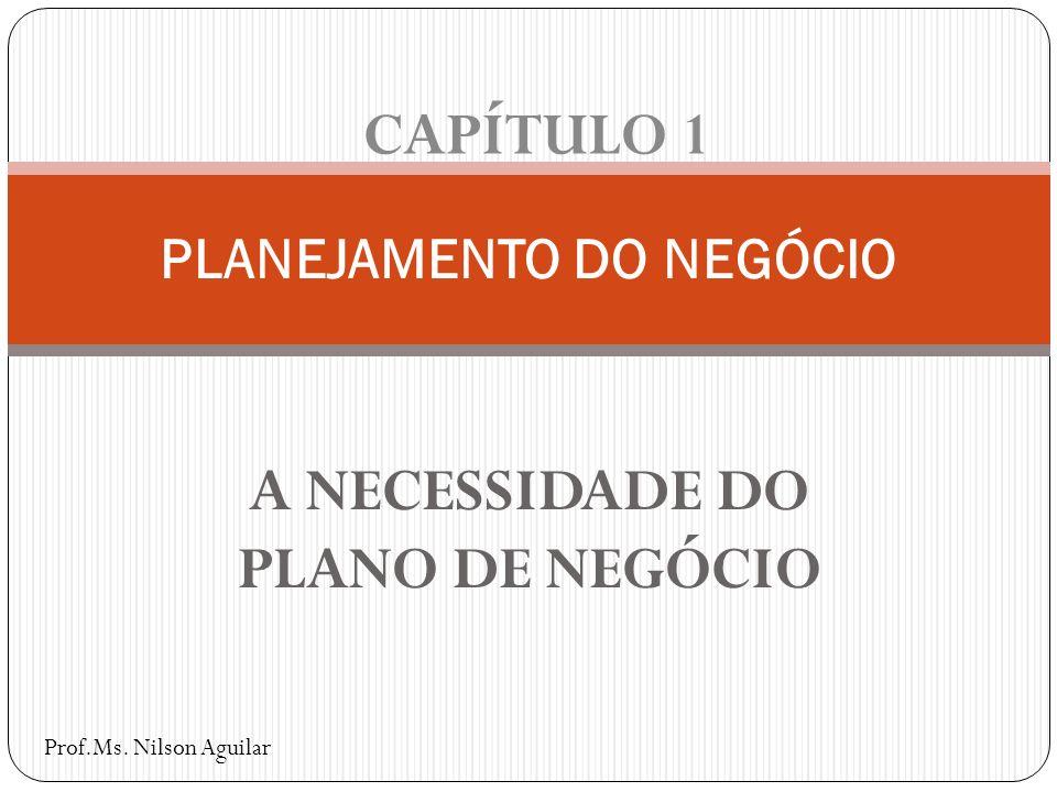 PLANEJAMENTO DO NEGÓCIO
