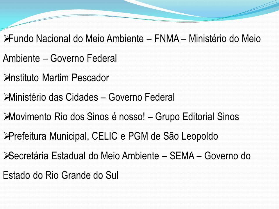 Fundo Nacional do Meio Ambiente – FNMA – Ministério do Meio Ambiente – Governo Federal