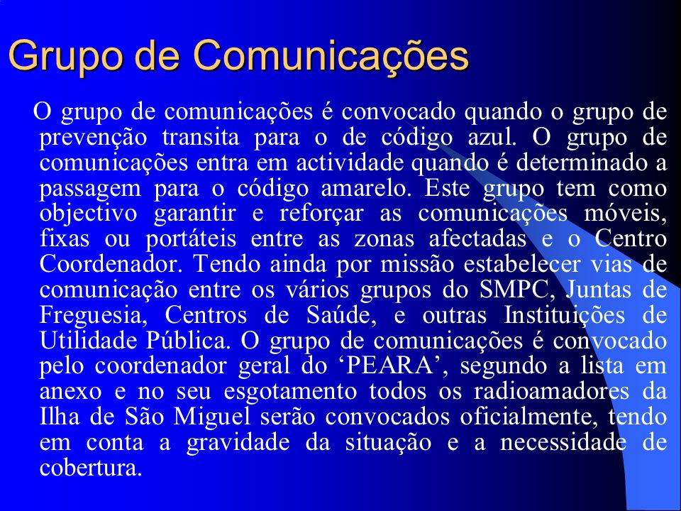 Grupo de Comunicações