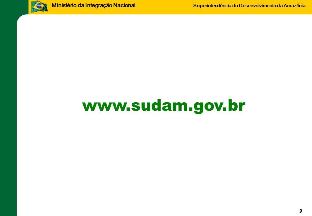 www.sudam.gov.br 9