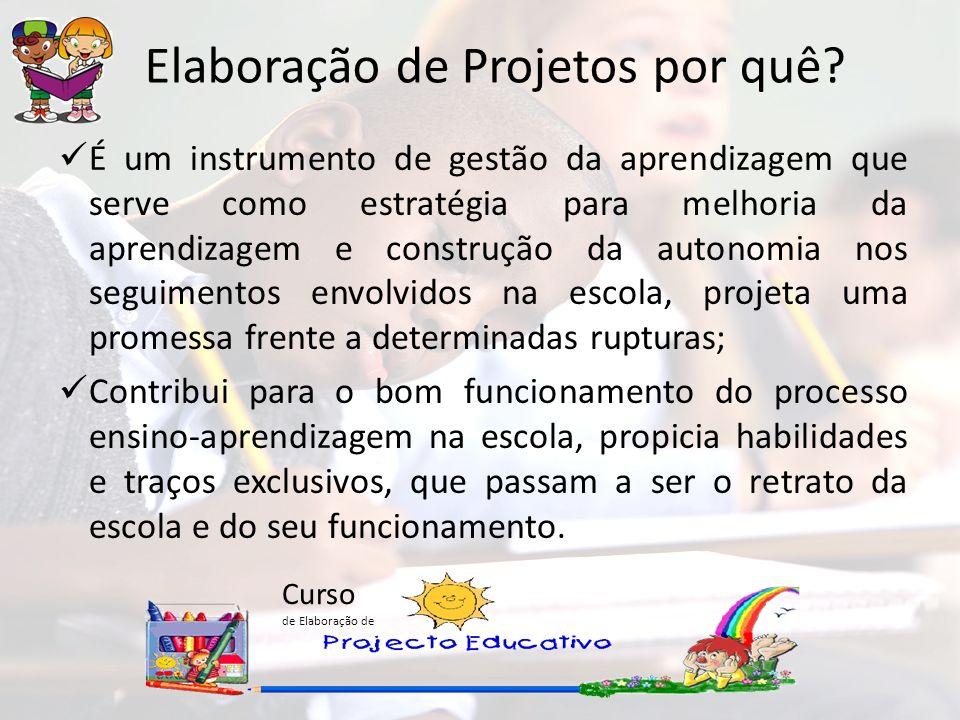 Elaboração de Projetos por quê