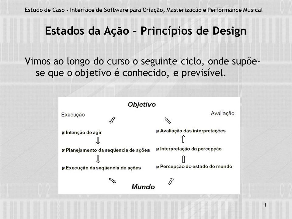 Estados da Ação – Princípios de Design