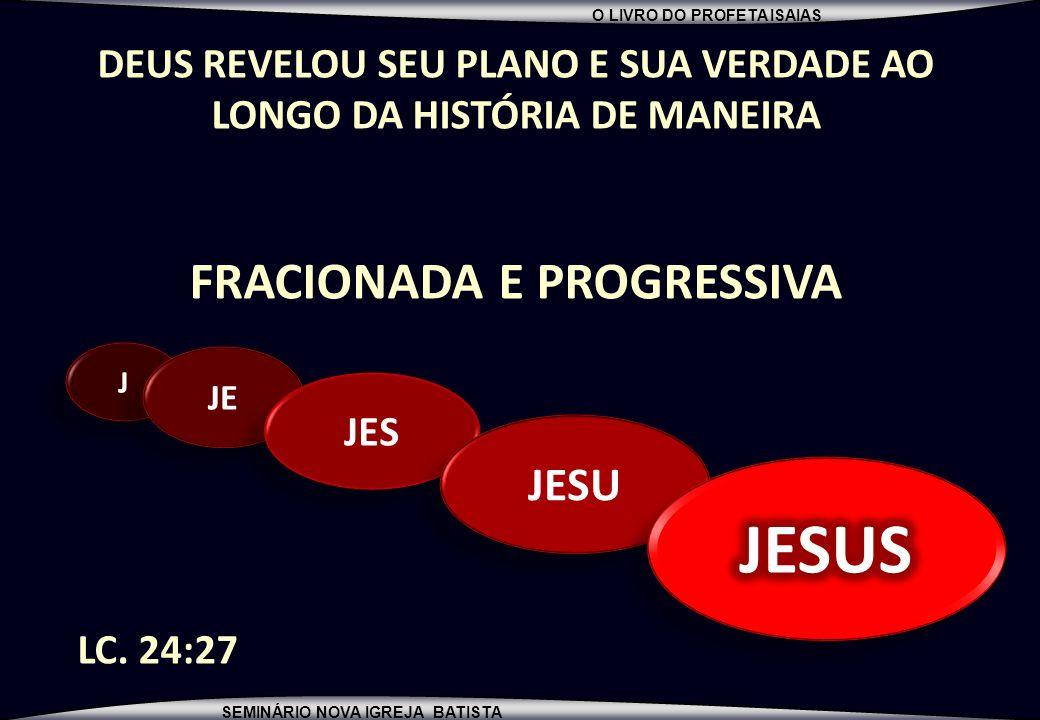 JESUS FRACIONADA E PROGRESSIVA JESU