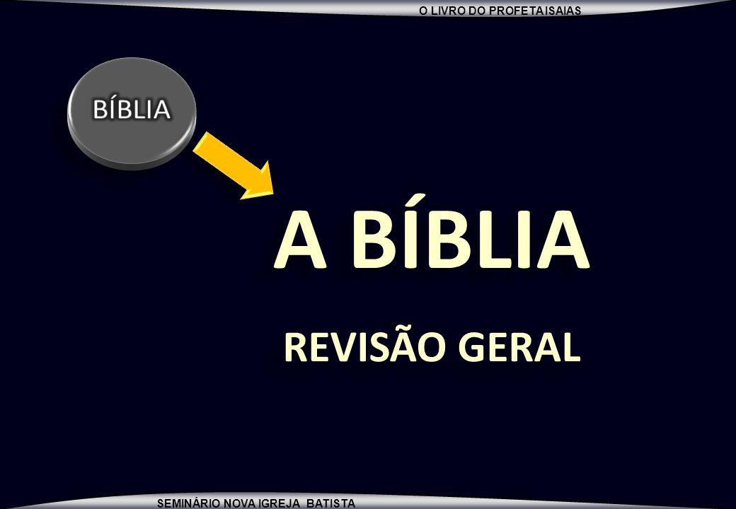 BÍBLIA A BÍBLIA REVISÃO GERAL