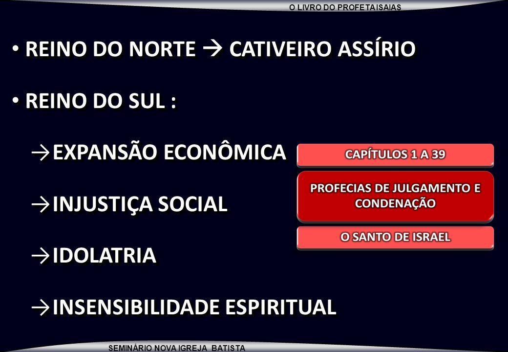 REINO DO NORTE  CATIVEIRO ASSÍRIO