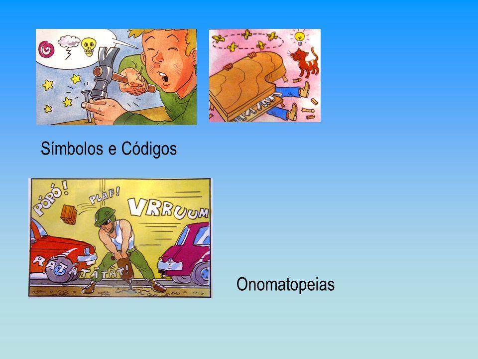 Símbolos e Códigos Onomatopeias