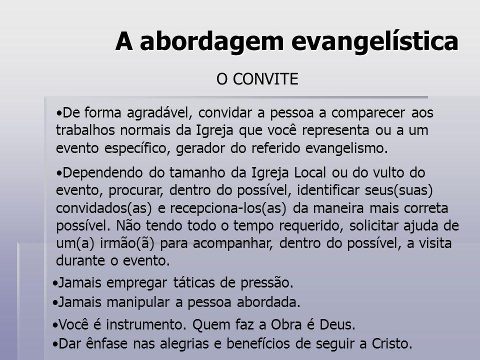 A abordagem evangelística