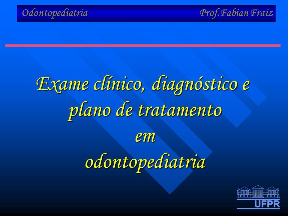 Exame clínico, diagnóstico e