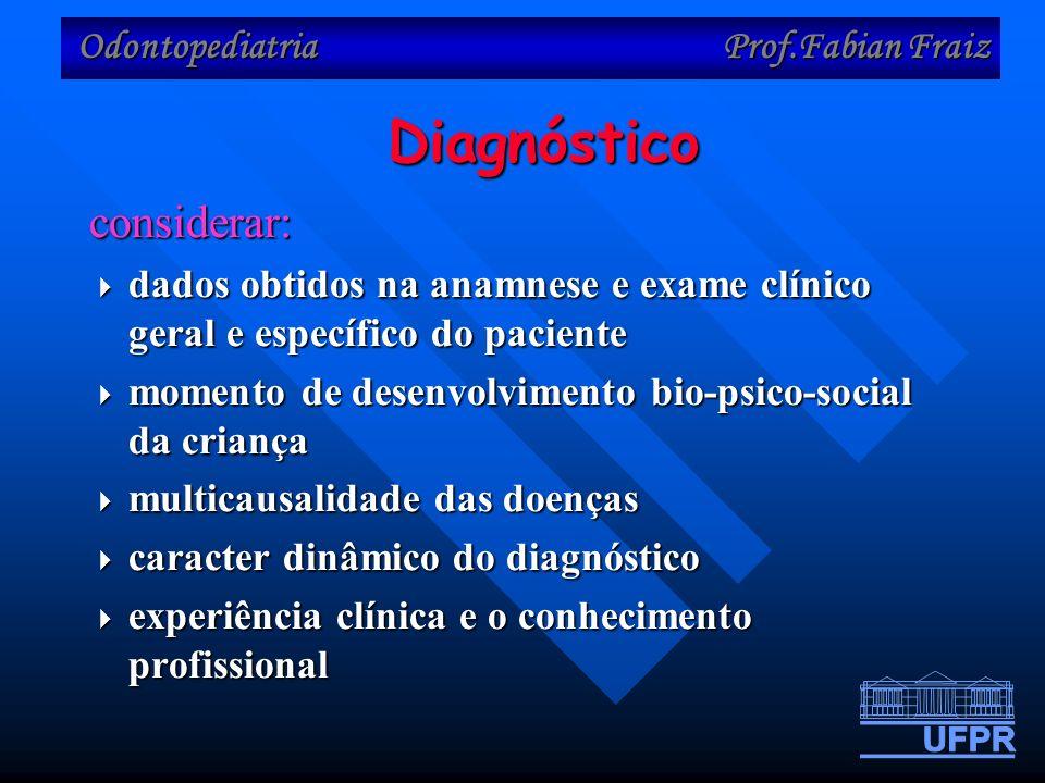 Diagnóstico considerar: