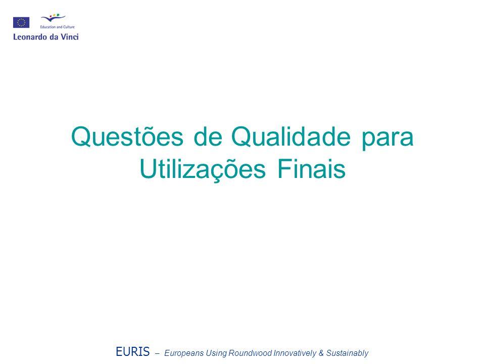 Questões de Qualidade para Utilizações Finais